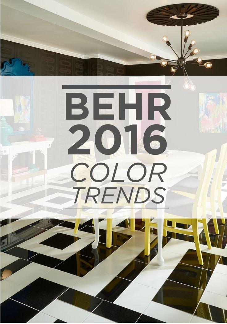 104 best behr 2016 color trends images on pinterest. Black Bedroom Furniture Sets. Home Design Ideas