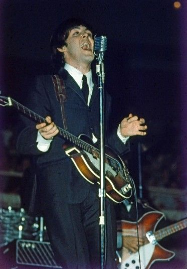 After Beatlemania conquered America, colour photography was used more widely for their 1965 and 1966 appearances, and the famous 1965 Shea Stadium show was filmed in colour by the BBC.  Picture: Dr Robert Beck/Omega Auctions/PA