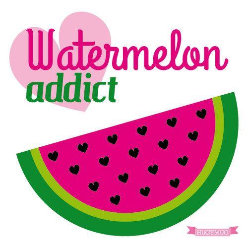 WATERMELON ADDICT by HUGYMUG