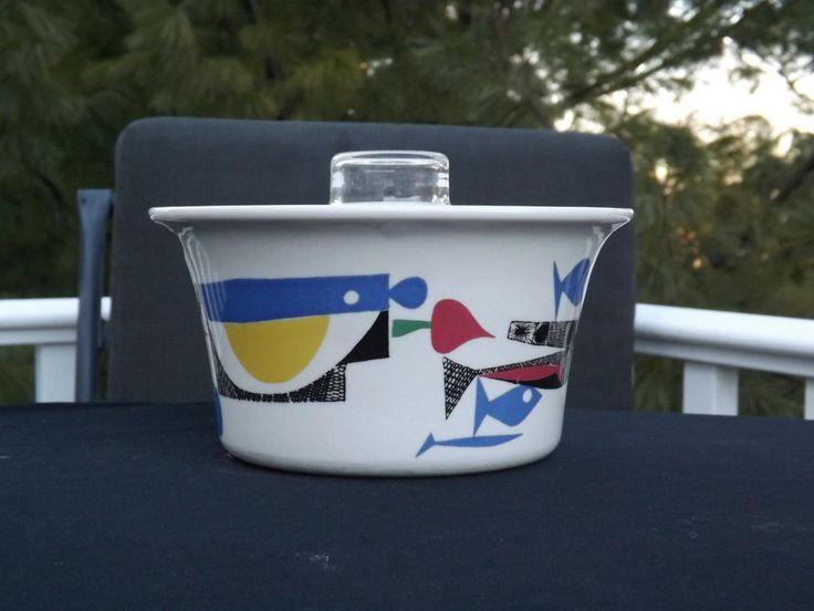 Figgjo Flameware A La Carte Scandinavian Casserole Dish Mid Century Modern in Pottery & Glass, Pottery & China, Art Pottery, Scandinavian Pottery | eBay