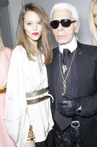 Freja will always be the best muse for Karl Lagerfeld.