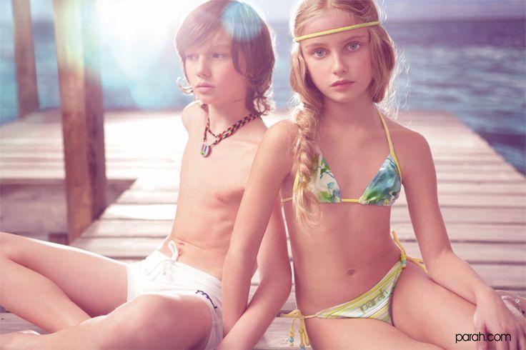 Boxer Mare Bikini Parah Kids Trajes De Ba 241 O Ni 241