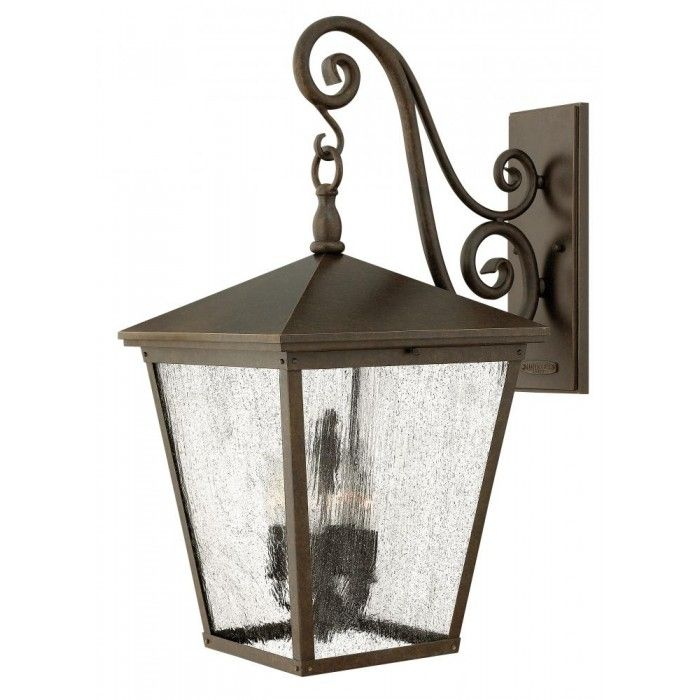 Regency Bronze Wall Lantern