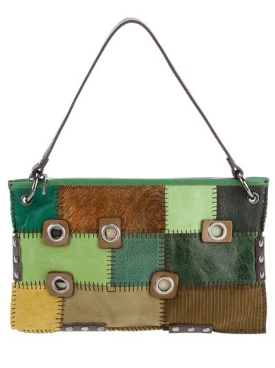 JAMIN PUECH Patchwork Bag
