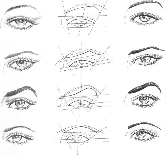 Fashion Drawing Eyes ✤ || CHARACTER DESIGN REFERENCES | Find more at https://www.facebook.com/CharacterDesignReferences if you're looking for: #line #art #character #design #model #sheet #illustration #expressions #best #concept #animation #drawing #archive #library #reference #anatomy #traditional #draw #development #artist #pose #settei #gestures #how #to #tutorial #conceptart #modelsheet #cartoon #eye