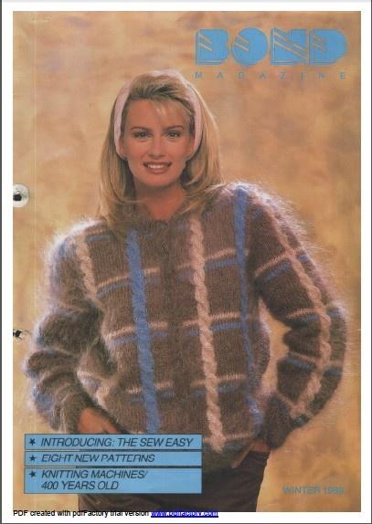 158 Best Sweater Machine Patterns Images On Pinterest Knit
