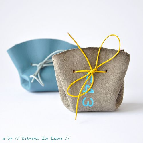 DIY drawstring coin purse: hello bridesmaid jewelry gift packaging!