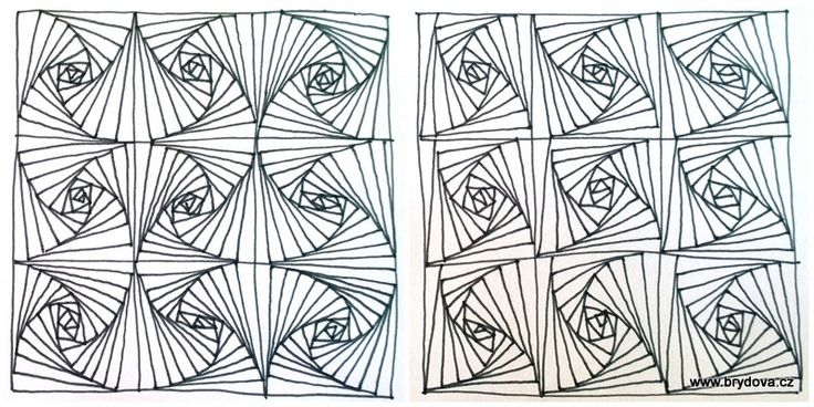 Zentangle – Paradox