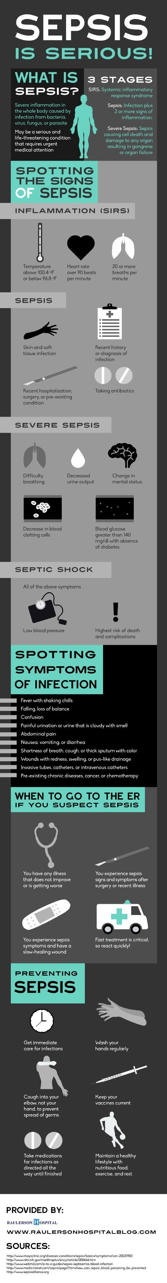 Scared of sepsis? Prevent it by washing your hands regularly, keeping your vaccines currents, and maintaining an overall healthy lifestyle! Click over to this Okeechobee health care infographic to get more advice about preventing sepsis and protecting you