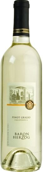 Herzog Wine Cellars Baron Herzog Pinot Grigio 2010 $10.55 - A perfect balance of acidity, followed by ripe pear, apple and tropical fruit notes.   *Please note: Prices may be not  guaranteed. Please check our website, www.TheWineGuyLi.com for today's price. We promote specials with our SuperSaver card periodically. Subject to Inventory Depletion.*