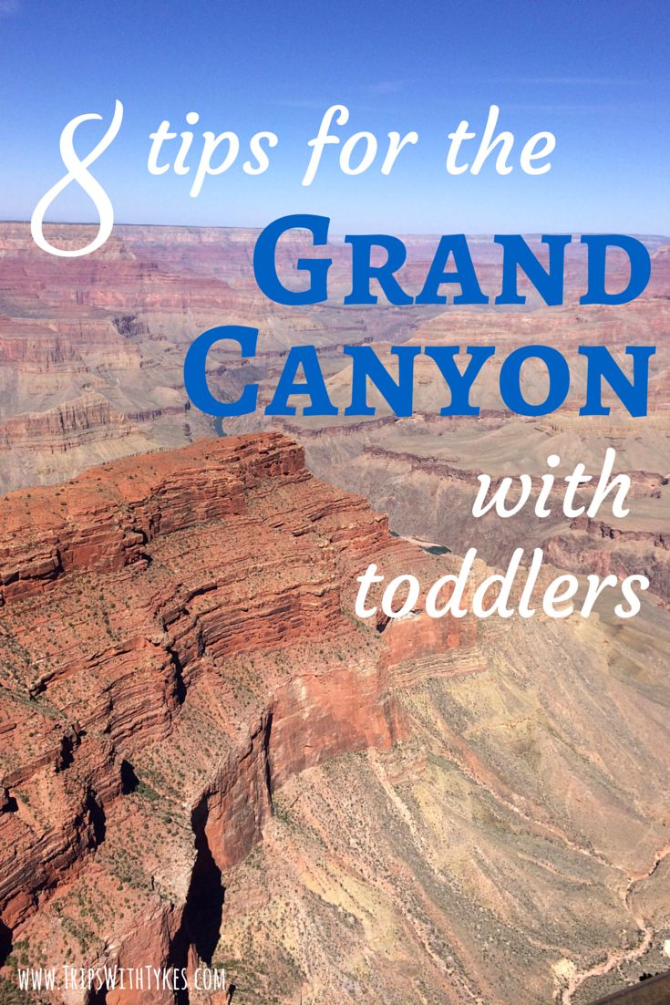 8 Tips for Visiting the Grand Canyon with Toddlers: What to do, where to stay, and where to eat on the Grand Canyon's South Rim with young kids.