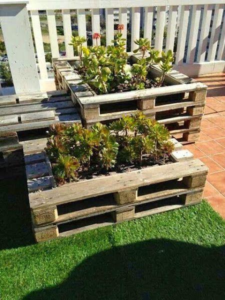 Cosas que puedes hacer con un palet. Especial terrazas   Decorar tu casa es facilisimo.com