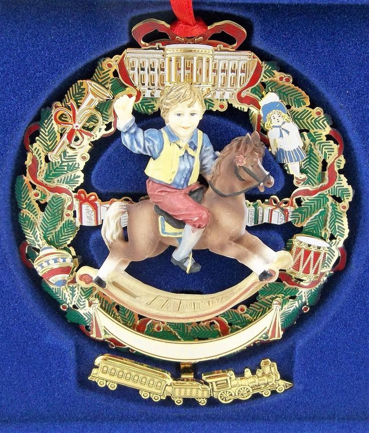 The White House Historical Association 2003 Christmas Ornament Ulysses S. Grant