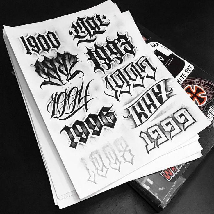 "Lettering's Junkie on Instagram: ""Done by: @a_scherbik @a_scherbik @a_scherbik • • • • • • • • • • • • • #tattooletters #tattoos #handtype #letteringchallenge #alphabet…"""