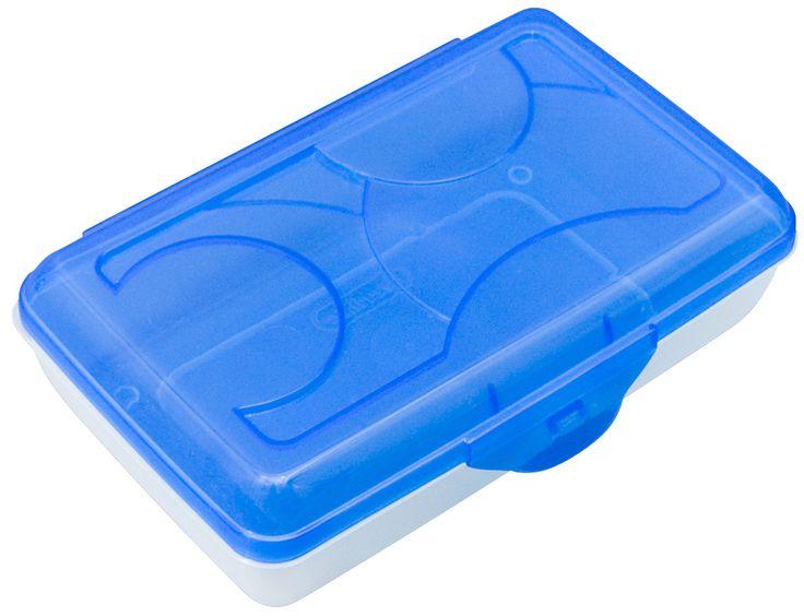 Plastic Pencil Box (Set of 6)