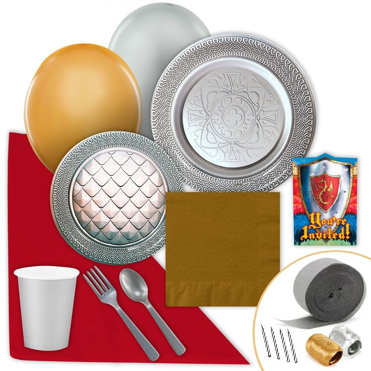 Goth Feast Silver Value Party Pack