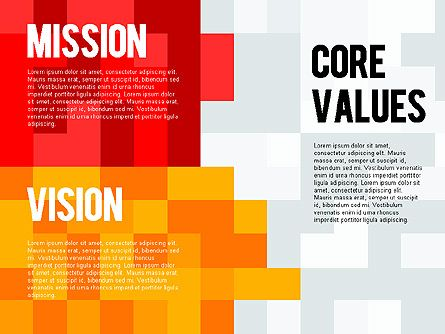 Mission, Vision and Core Values Diagram