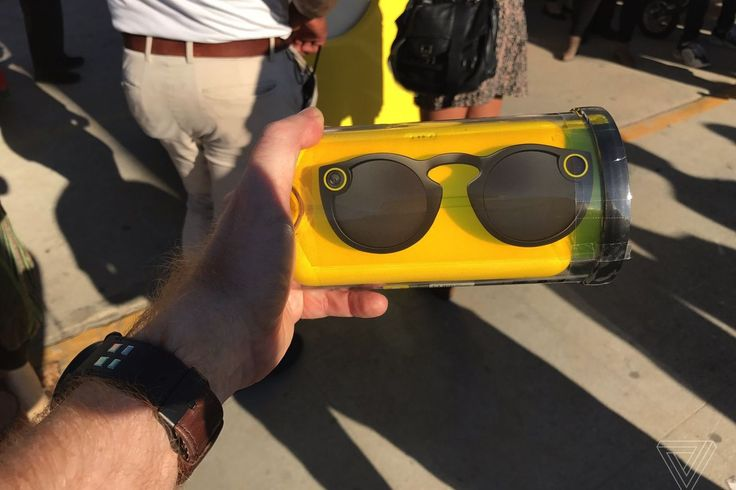 Snapchat Spectacles are going for hundreds of dollars on eBay    Snapchat's Spectacles, a pair of $130 camera-equipped sunglasses that sync with your smartphone, went on sale this morning from a bright yellow pop-up vending machine that first showed up near the c   http://www.theverge.com/2016/11/10/13593142/snapchat-spectacles-sale-ebay-price-snapbots