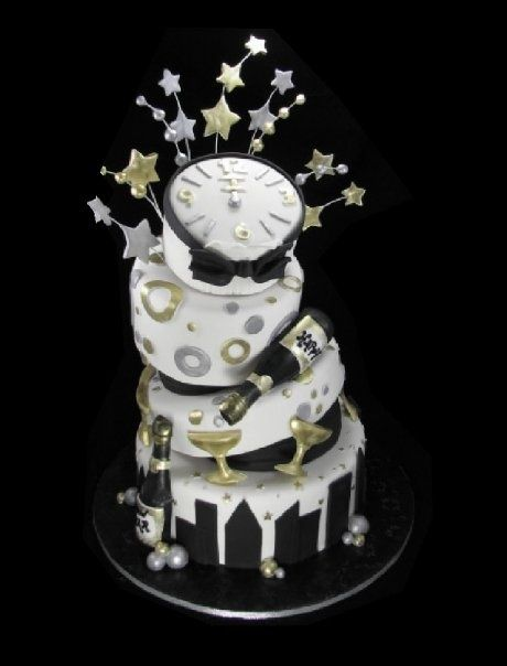 1000+ images about New Year Cakes on Pinterest | Cupcakes ...
