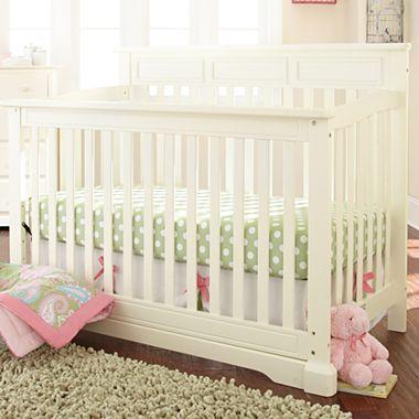 Rockland Hartford 3 Pc Baby Furniture Set Antique White