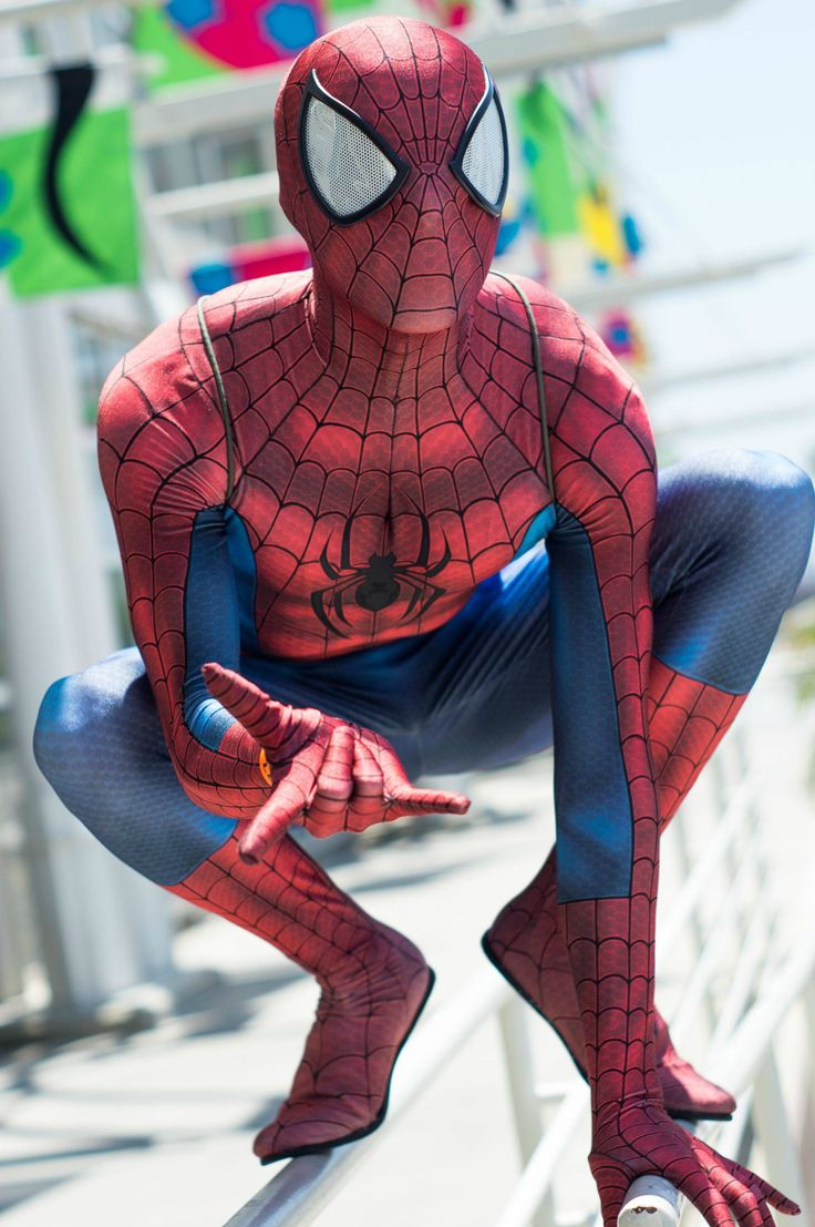 How to build an Ultimate Spider-Man Suit - Imgur