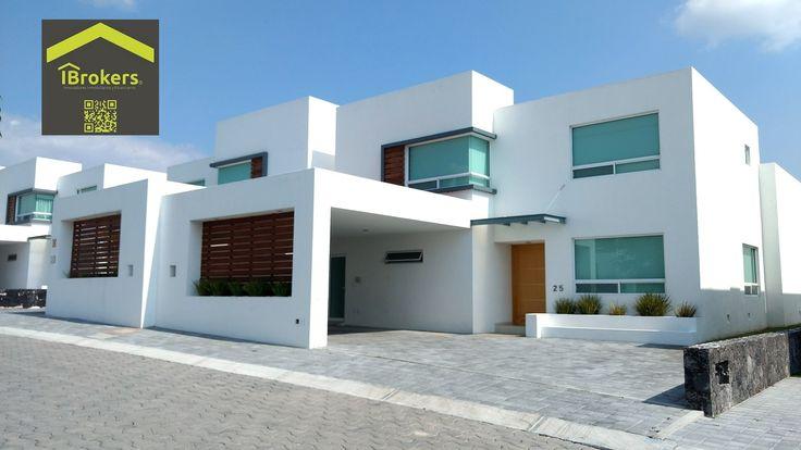 Casa en venta en juriquilla en privada alberca gimnasio for Casas modernas juriquilla queretaro