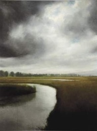 """""""Storm Over the Marsh"""" by James Way"""