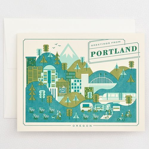 143 best greeting card companies images on pinterest greeting card send greetings from portland or with this letterpress card printed right here in portland designed by lab partners for hello lucky measures wide x tall m4hsunfo