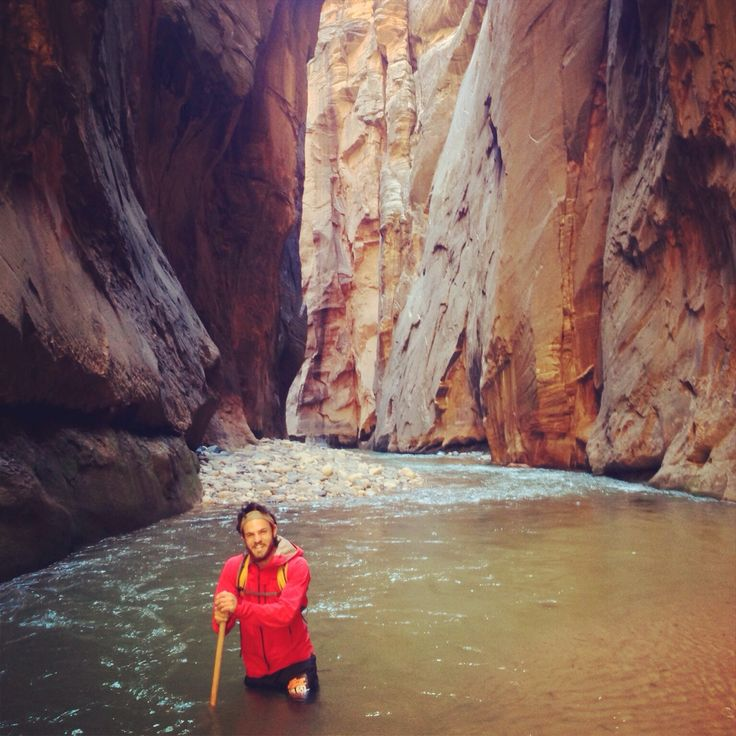 Hiking the Narrows! Most intriguing hike yet to have accomplished!