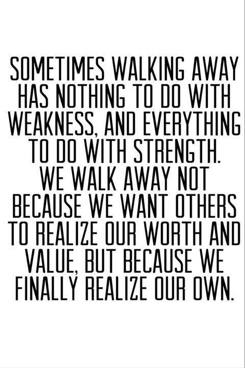 Want moeite kost het, om weg te lopen.. om weg te blijven..