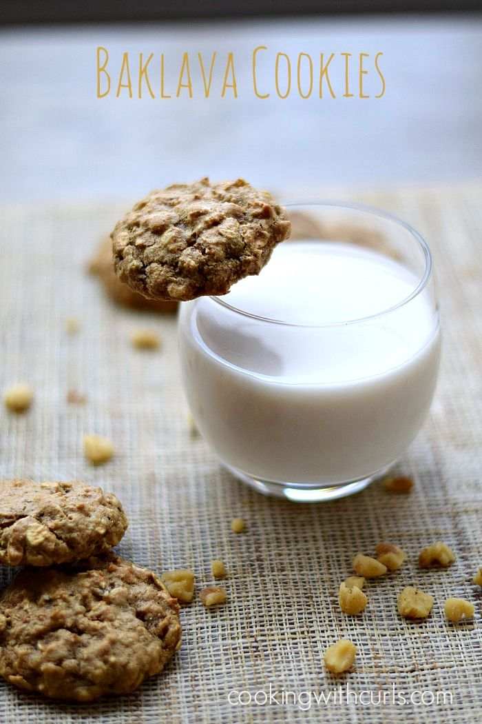 Baklava Cookies by cookingwithcurls.com: