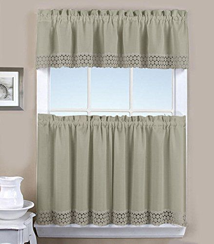 Kitchen Curtains Sets Amazon: Tier & Valence Combination Sets