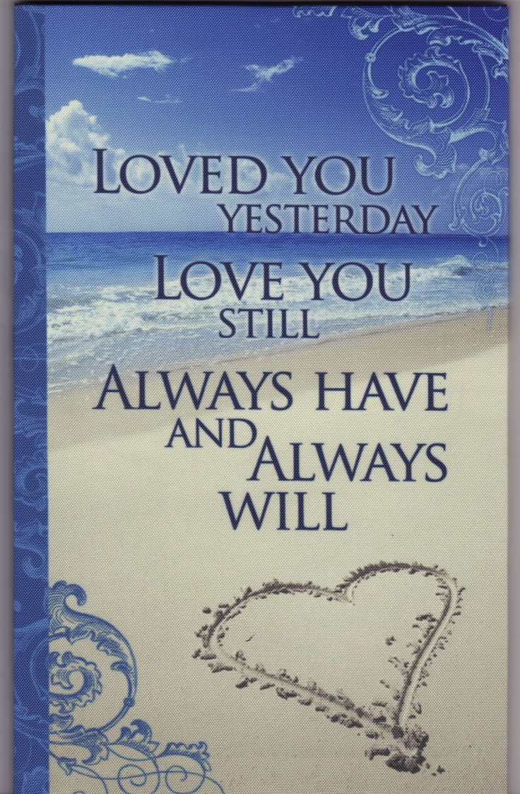 from my Dear Husband missing me while I m away July 2011