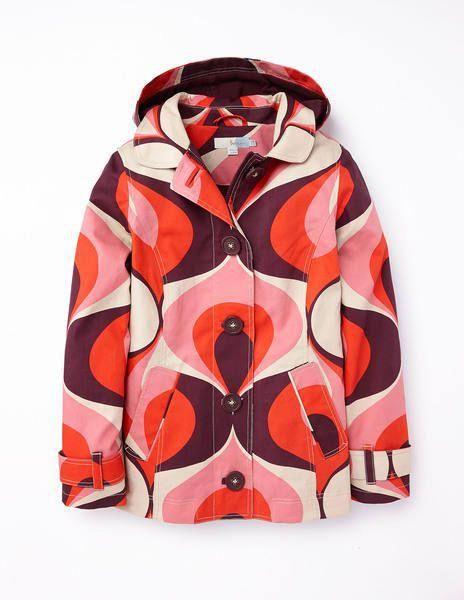 Short Rainy Day Mac  Womens3 4LengthRaincoat  2a7a912fd