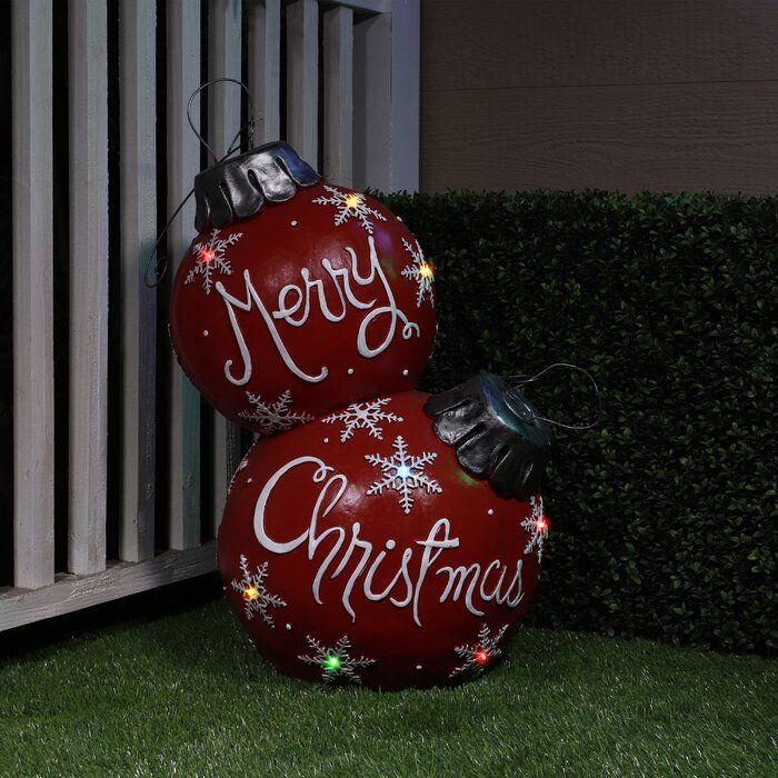 Ball Ornament Large Christmas Ornaments Outside Christmas Decorations Christmas Door Decorations
