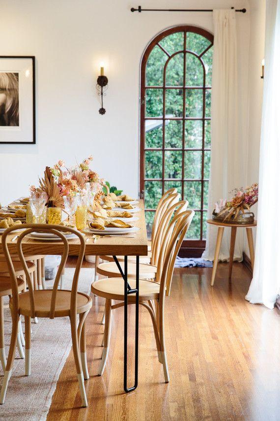Earthy Spring Brunch Inspiration House Home Pinterest Salle