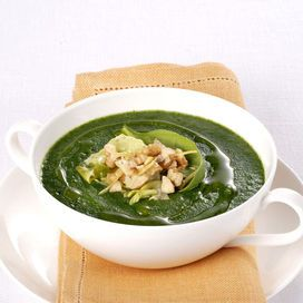 Crema di erbette, spinaci e lattuga | Donna Moderna
