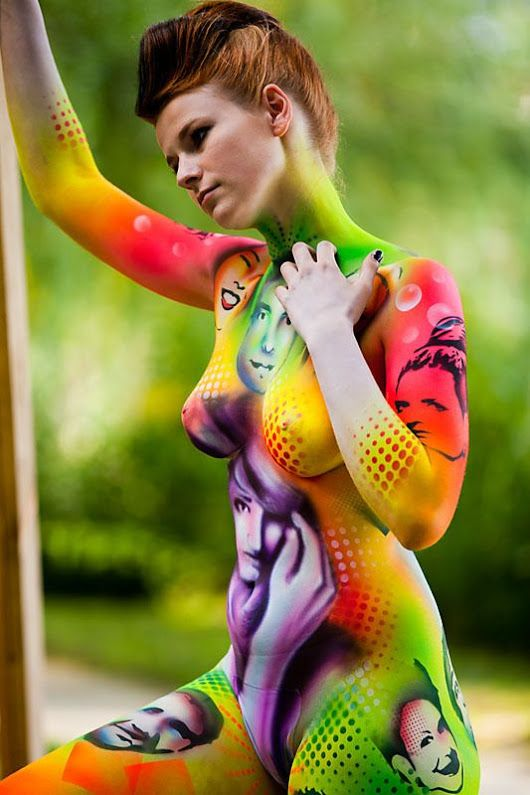 Yougalery Hot Body Paint