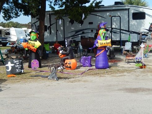 Ocean Lakes Family Campground Myrtle Beach SC Halloween