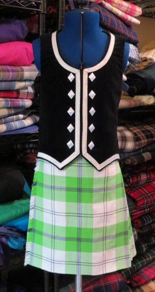 Dress Lime Cunningham