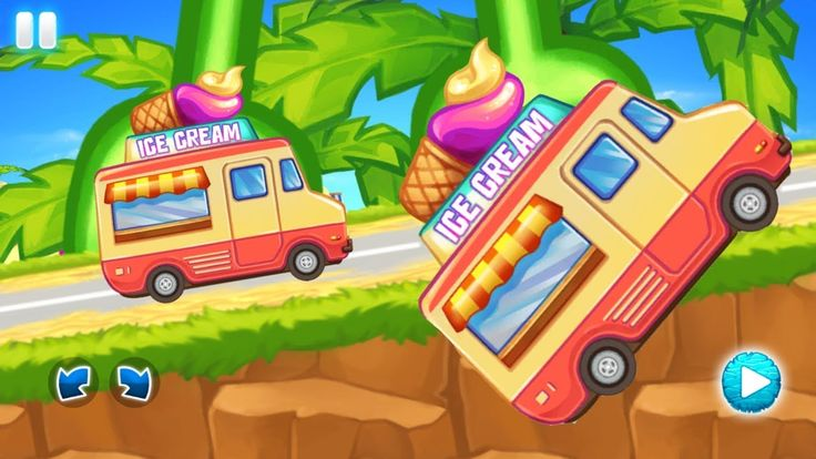 Ice Cream Truck Racing Games - Racing Games For Kids - Video For Kids