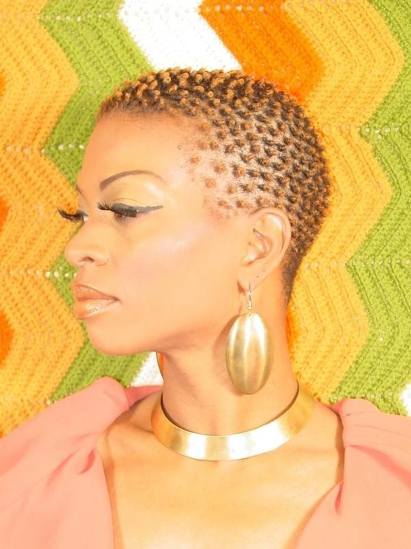 Coils | Black Women Natural Hairstyles by Karen Barber
