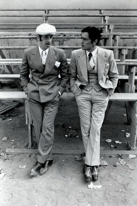 Alain Delon and Jean-Paul Belmondo Plus