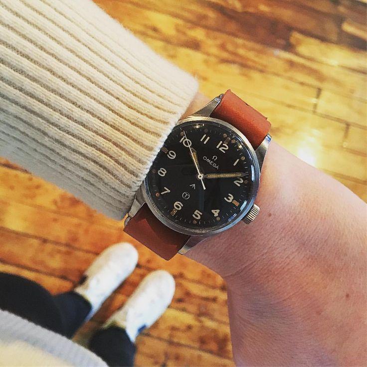 "658 Likes, 21 Comments - Cara Barrett (@its.cara.time) on Instagram: ""Omega Broad Arrow 🔥@hodinkeeshop #hodinkee #hodinkeeshop #watchesofinstagram #watches…"""