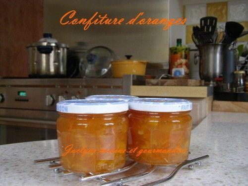 Confiture d'oranges  =  A associer à la recette de la confiture de #Figues (recette3)