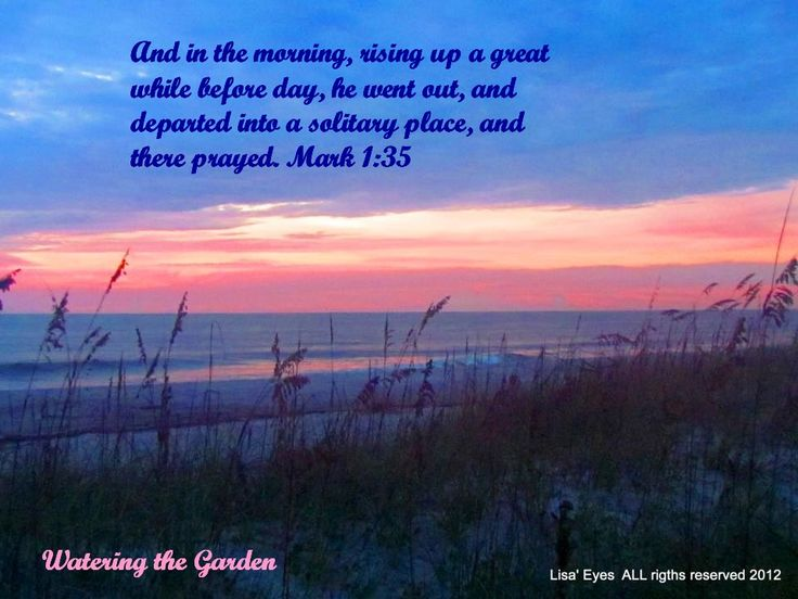 early morning prayer - photo #4