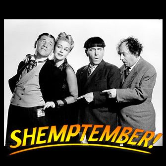 Since it is now 'Shemptember' here's some Shemp trivia:  How many Columbia shorts did Shemp make with Moe & Larry? Shemp was in 1930's Soup To Nuts. What was his next feature film with Moe & Larry? Christine McIntyre clobbers Shemp in which short? #tuesdaytrivia #shemp #thethreestooges #threestooges