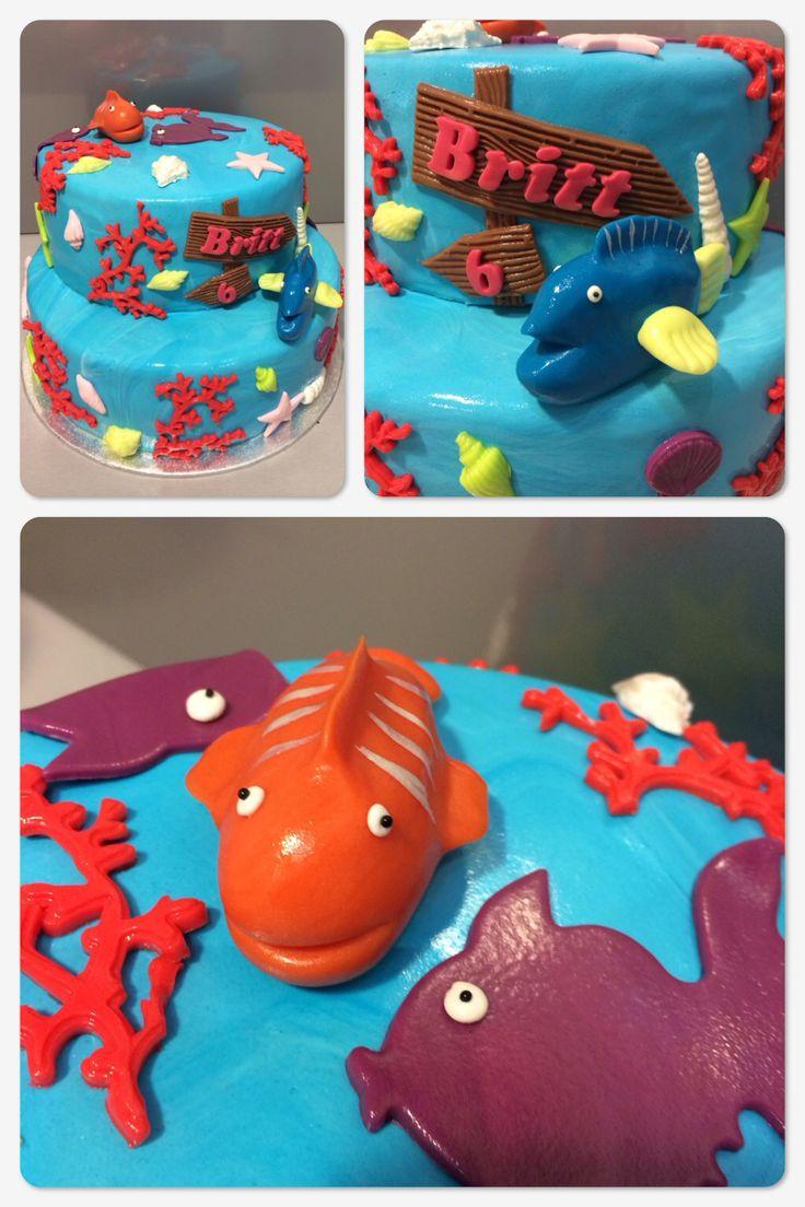 Onderwater taart