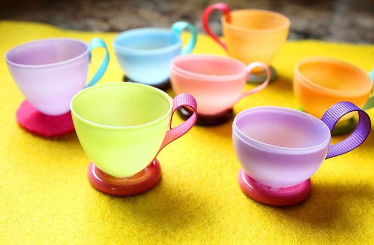 egg shell teacups
