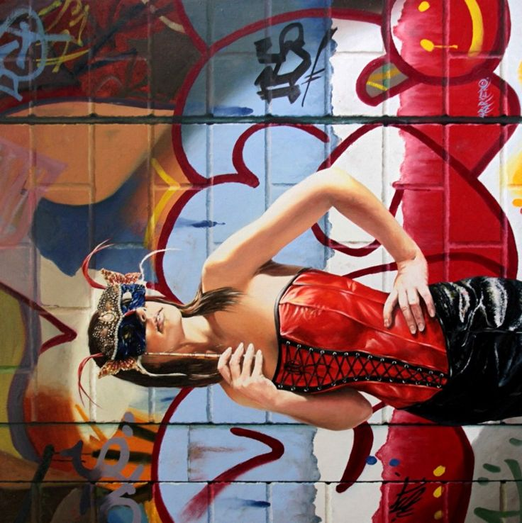 Leather N Laces 2, 92cm x 92cm, For more information please contact REDSEA Gallery on (07) 3162 2230 © Luke Barker